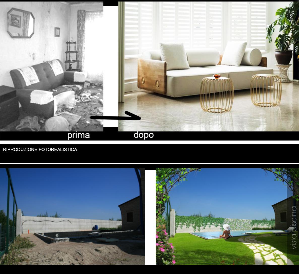 Home Staging prima e dopo