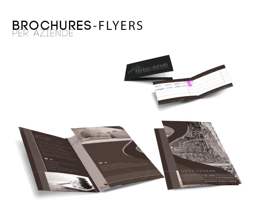 servizi integrati brochures flyers