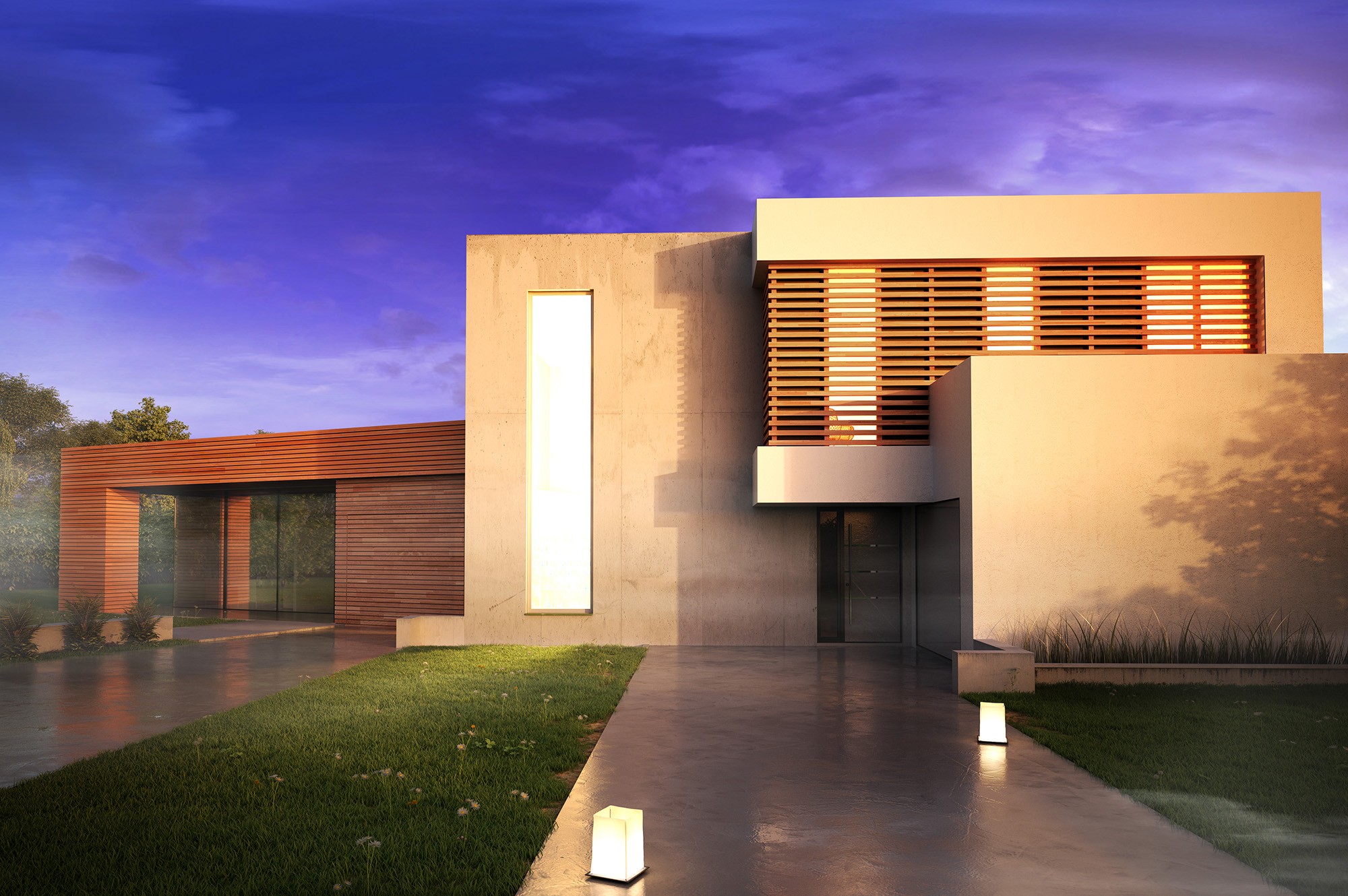Modern House_RenderGraphicus